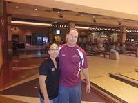 Lisa Fujimoto (5th ABT title) & Terry Robbins (2nd Place)